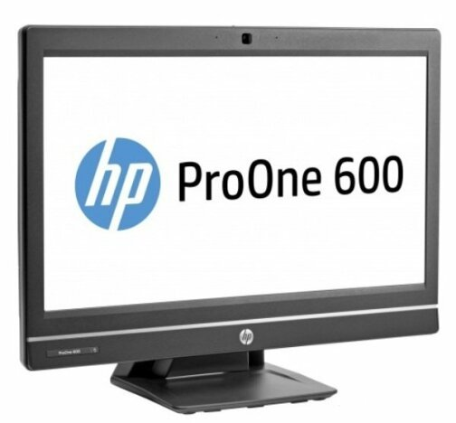 AIO HP ProOne 600 G1, Intel Core i5 Gen 4 4570S 2.9 GHz, 8 GB DDR3, 500 GB HDD SATA, Webcam, Display